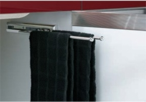 2 Prong Pull-Out Towel Bar