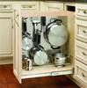 444 Series Pull-Out Base Organizer