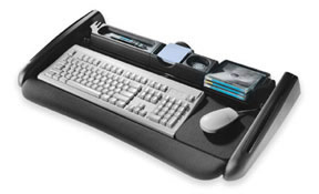 Accuride Model 300 100 lbs. Full Extension Deluxe keyboard system