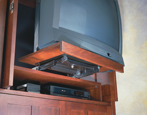 Accuride Model 3620 360° TV Swivel with Bottom Mount Slide