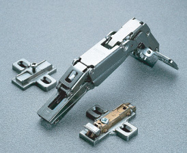 Adjustable Self-Opening PUSH Hinge