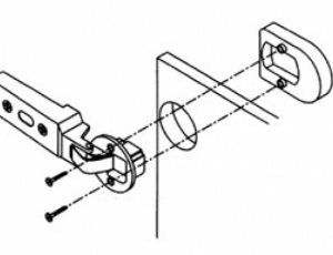 blum clip glass door hinge cover caps