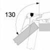 Blum CLIP Top angle restriction clip (130°)