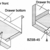 Blum METABOX Support Brackets