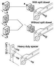 Blum Cabinet Profile Spacers Blum Accessories Metabox