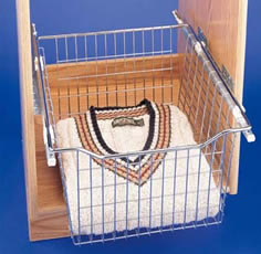 CB Series Heavy Gauge Pull-Out Wire Baskets