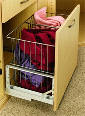 CH Series - Wire Hamper with Soft-Close Slides