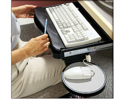 COMPX Hide & Slide™ Computer Keyboard Tray