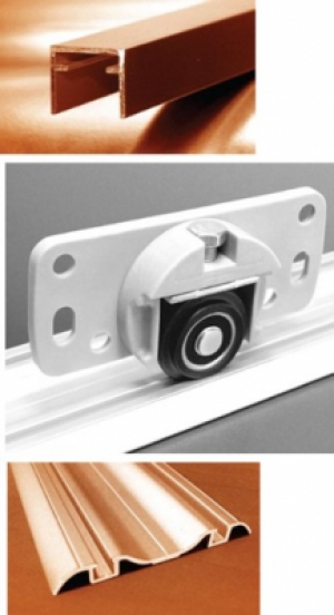 Floor Sliding CD 40 CX - Sliding Door Hardware - Cabinet Makers Supply