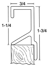 Flush Mortise Pull - 1