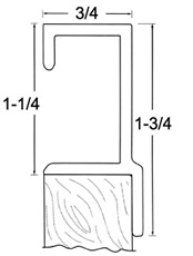 Flush Mortise Pull - 2