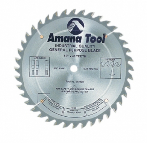 General Purpose Saw Blade Saw Blades Cabinet Makers Supply