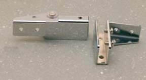 Glass Door Hinge - Side Wall Mounted