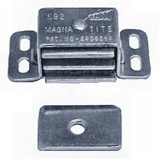 Heavy Duty Magnetic Catch - Aluminum