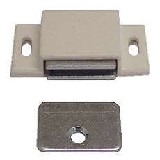 Magnetic Catch for Cabinet Doors - Plastic