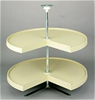 REV-A-SHELF Pie-Cut Dependently Rotating Lazy Susan Rev-A-Shelf