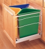 Recycle Center Waste Container Rev-A-Shelf
