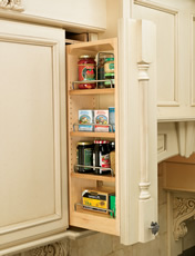 Rev-A-Shelf 432 Series Wall Pull-Out Filler