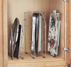 Rev-A-Shelf 597 Series Tray Dividers with Clips