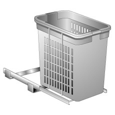Roll-Out Plastic Hamper