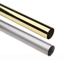 Round Tubing - Stainless Steel & Brass