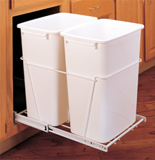 RV Series - Double Pull-Out Waste Container