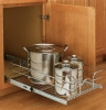 Single Pull-Out Chrome Baskets Rev- A Shelf 5WB Series