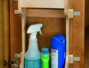Sink Base Door Storage Rev-A-Shelf 4SBSU Series