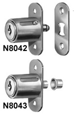 Sliding Door Lock for Wood Doors