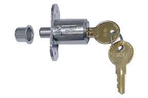 Knape & Vogt Plunger Lock - Knape & Vogt Locks
