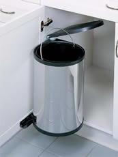 Stainless Steel Built-In Waste Bins