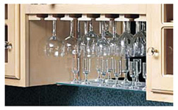 Stemware Racks - Solid Wood