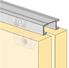 System 6034 - Sliding Door Hardware Bi-Passing