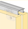 System 6064 - Sliding Door Hardware Bi-Passing