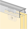 System 6065 - Sliding Door Hardware Bi-Passing