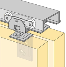 System 72138 - Sliding Door Hardware Bi-Passing