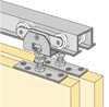 System 72222 - Sliding Door Hardware Bi-Passing