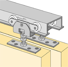 System 72223 - Sliding Door Hardware Bi-Passing