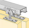 HETTICH System 72223 - Sliding Door Hardware Bi-Passing