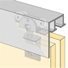 System 73034 - Sliding Door Hardware Bi-Passing