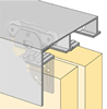 System 73134 - Sliding Door Hardware Bi-Passing