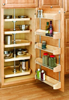 Wood D-Shaped Pantry Sets - Independently Rotating