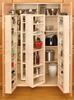 Wood Swing-Out Pantry - Rev-A-Shelf 4WP Series