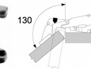Blum Clip Top Angle Restriction Clip 130 176 Hinges