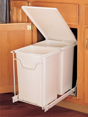 Rev A Shelf Waste Bin With Pop Up Lid Rev A Shelf
