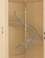 Rev A Shelf Spiral Clothes Rack Rev A Shelf Misc Closet