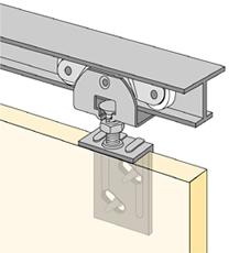 Hettich System 71034 Hettich Single Sliding Sliding Door