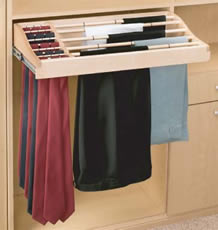 Rev A Shelf Wood Pant Rack Rev A Shelf Pant Racks Closet